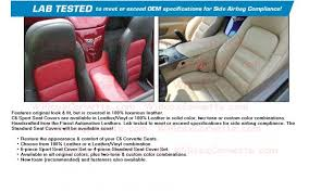 custom 100 leather seat covers sport