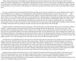 Argumentative Essay About Love