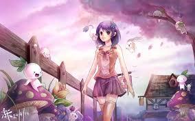 Free Wallpaper Beautiful Anime Wallpaper Hd