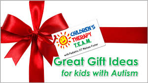 gift ideas for children with autism gift