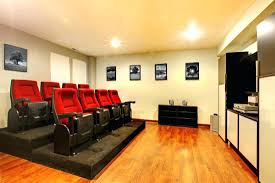 Finished Family Basement Theatre Christmas Show Tickets Room