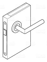Door lock diagram stock vector art more images of australia door lock diagram royalty free door