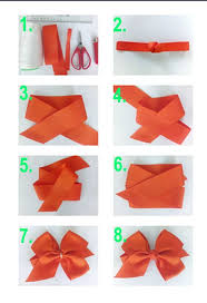 How to make ribbon bow? 8 tips to make a 5 inch hair bow.
