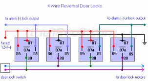 5 wire door lock relay diagram wiring diagram schematics car security and convenience power door locks multiple wire