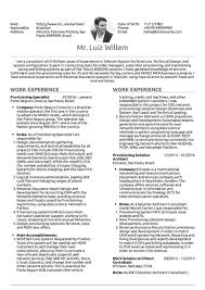 Sample Telecommunications Consultant Resume Consulting Resume Samples From Real Professionals Who Got