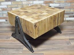 butchers block coffee table cambrewood c