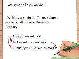 Syllogism Examples Using Venn Diagram 3 Ways To Understand Syllogisms Wikihow