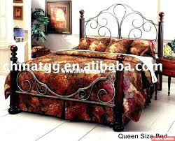 King Size Bed Price Wrought Iron King Size Bed Iron King Bed Frame ...