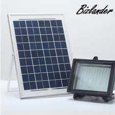 bizlander new outdoor solar flood light dusk to dawn save your electricity bill