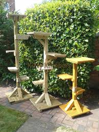 we are based within solihull west midlands and produce cat trees for outdoor use