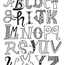 cool ways to write letters of the alphabet christmas with regard to cool ways to write letters 600x600