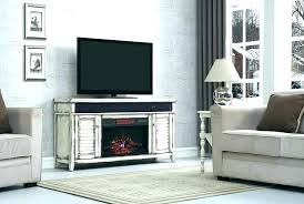rustic electric fireplace entertainment center infrared stand faux stone mantel in corner ston