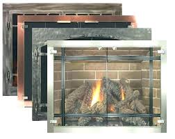 small glass fireplace pleasant hearth alpine doors s