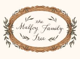 famiy tree the malfoy family tree pottermore