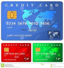 Debit Card Designs Credit Or Debit Card Design Template Stock Vector