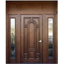 Solid Wood Front Door Designs Ash Wood Door With Frame Hpd416 Solid Wood Doors Al