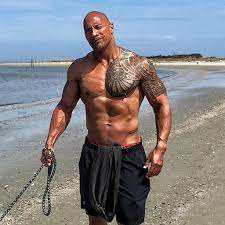 Dwayne johnson the rock is a representation of success in many aspects of life. Hottest Pictures Of Dwayne The Rock Johnson Popsugar Celebrity