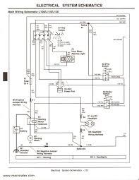 john deere l120 wiring diagram john deere alternator wiring john deere lawn mower wiring diagram at John Deere 100 Series Wiring Diagram