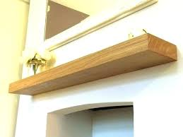 floating shelf fireplace mantel shelves above fireplace oak shelves floating oak floating shelves above mantel fireplace
