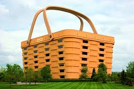 The Longaberger Basket Company building in Newark, Ohio, as featured in  Wild Art