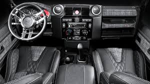 land rover defender 90 interior. land rover defender 90 door panel card inserts leather interior by chelsea truck company n