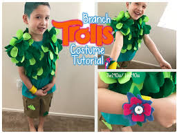 branch trolls costume tutorial