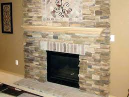 tile over brick fireplace natural top fireplaces refacing with ceramic pictur