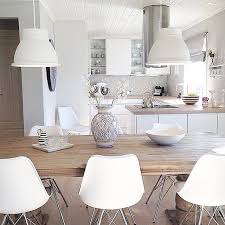 wood and white for the kitchen