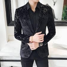Suit Coat Pant Design 2019 Latest Coat Pant Designs Black Charcoal Floral Formal Men Suit Slim Fit Pattern Style Party Show Tuxedo Prom 3 Piece Terno