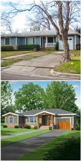 Ranch House Curb Appeal 64 Best How To Change A Flat Front House Images On Pinterest