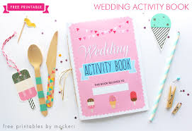Trying to figure out wedding colors that you haven't already seen 100 times? Free Printable Wedding Activity Book