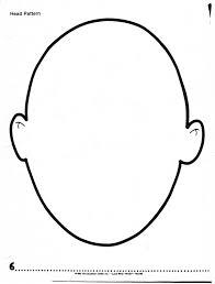 Printable Blank Face Best Photos Of Empty Head Outline Head Outline Template Brain 14