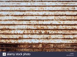 garage door texture. Rusted Garage Door Texture For Your Background - Stock Image