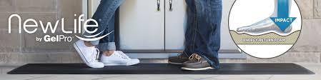 Cushioned Kitchen Floor Mat Newlife Bio Foam Comfort Floor Mats By Gelpro Provide Superior Comfort