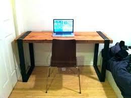 rustic desk diy best simple computer