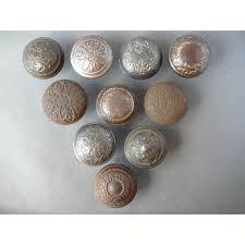 copper door knobs. antique fancy steel single door knobs copper
