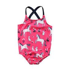 Details About US Kids Baby Girl Unicorn Swimwear Bikini Tankini Swimsuit  Swimming Costume 0 4T