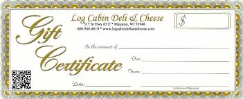 Gift Certificates Search With Categoy Buttons To Left Log