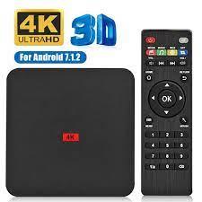 Android Mới 10.0 TV Box Rockchip RK3229A 8GB ROM Set Top Box 2.4G/5GHz WiFi  5G Google Play 4K Chơi Phương Tiện Smart TV Box|Set-top Boxes
