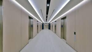 Office hallway Night Officehallway1 Go Back To News Page Senso Lighting Officehallway1 Senso