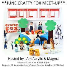 Crafty Talks And Meetups Crafty Fox Market
