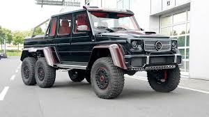 mercedes 6x6 engine. Contemporary 6x6 Brabus Makes MercedesBenz G63 AMG 6x6 Even More Outlandish With Red Carbon Throughout Mercedes Engine G