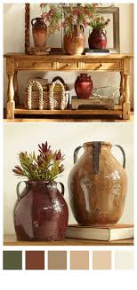 decor colors statues vases bowls