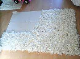 Fabric Rug Diy Diy Anti Slip Shaggy Rug Youtube