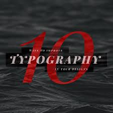 Modern Typographic Resume Set 10 Ways To Improve Typography In Your Designs Learn