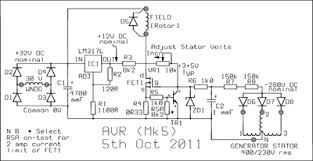 schematic 3 phase generator the wiring diagram circuits > avr for a three phase generator l24044 next gr schematic
