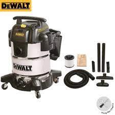 Máy hút bụi công nghiệp DeWalt DXV30S tích hợp 3 chức năng hút khô ,ướt và  thổi 30L công suất 3000W vỏ inox- Hàng chính hãng - Hút bụi gia đình Nhà