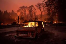 California wildfires rage, north and south, killing at least nine ...