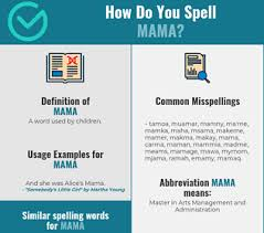 *this post contains affiliate links. Correct Spelling For Mama Infographic Spellchecker Net