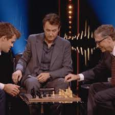 WATCH: World Chess Champion Magnus Carlsen Beats Bill Gates in 79 Seconds -  The Daily Banter